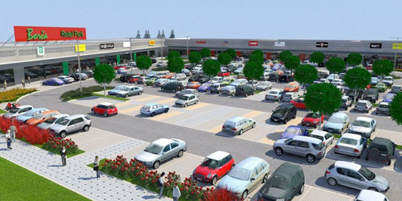 First retail offer in Borča